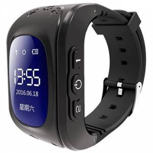 Pin iT Intigo P1 GPS Tracking Smart Watch for Children with 2-Way Channel Communication and SOS Feature - Black - UK Brand & Support - SIM Included