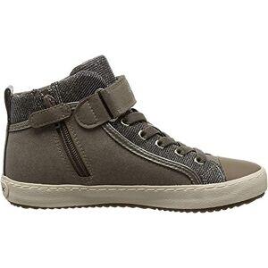 Geox J Kalispera Girl I Sneaker, Beige (DK Beige C5005), 8.5 UK Child