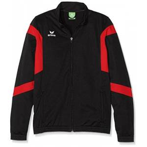Erima Classic Children's Training Jacket Black black/red Size:152 (EU)