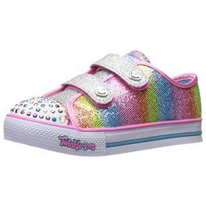 Skechers Girls' Step Up-Sparkle Kicks Trainers, Multicolour (Multi), 5 UK