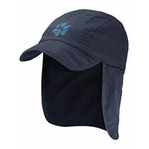 Jack Wolfskin Supplex Canyon Cap Kids Cap - Night Blue, Small