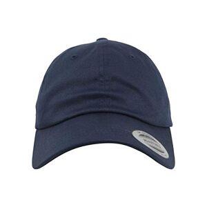 Flexfit Flex fit Low Profile Organic Cotton Cap, Unisex, 6245OC, Navy, One Size