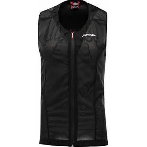 Alpina Sports Gmbh ALPINA Unisex-Youth PROSHIELD JUNIOR VEST Protector, Black, 140