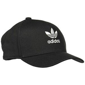 adidas Men's Adicolor Closed Trucker Curved Cap, Black, OSFL