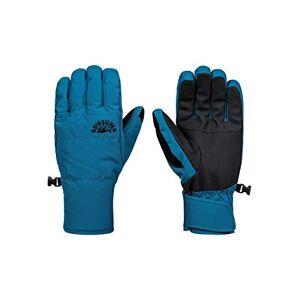 Quiksilver Men's Cross-Snowboard/Ski Gloves, Lyons Blue, L