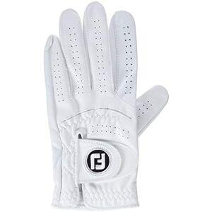 Footjoy 68850Golf Glove, Men, mens, 68850, White (Pearlescent), Medium