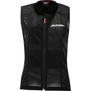 Alpina Sports Gmbh ALPINA Women's PROSHIELD Vest Protector, Black, S