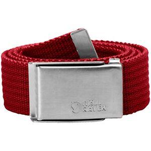 Fjällräven Men Merano Canvas Belt - Deep Red, One Size