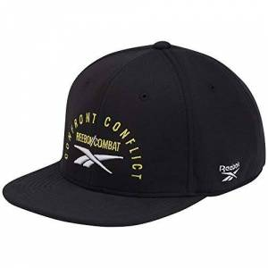 Reebok Men's Combat 6 Pan Cap, Black, one size