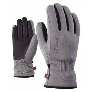 Ziej5 #ziener Ziener Karine as (R) PR Ski Gloves Women's Gloves, Men, KARINE AS(R) PR lady glove, grey melange, 6
