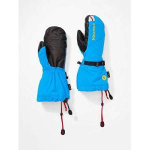 Marmot Men's 8000 meters mitt gloves, Clear Blue, XS