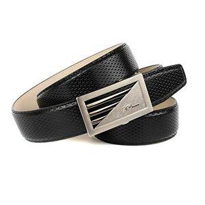 Crown Anthoni Crown Men's Ledergrtel Belt, Black, 90