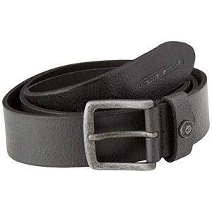 camel active Men's Guertel-Leder Belt, Black (Black 9), 48 (Size: X-Large)