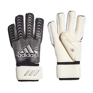 adidas Classic League Goalkeeper gloves, Unisex Adult, unisex_adult, FH7300, White/Black/Metallic Silver, 8.5