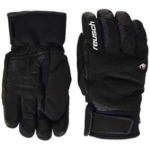 Reusch Beat GTX Men's Gloves, Men, 4901340, black/white/fire red, 7.5 (EU)