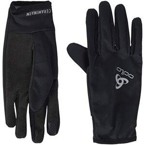 ODLO Men's Gloves CERAMIWARM GRIP, black, XL