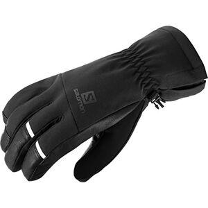 SALOMON Comfortable Gloves for Men Propeller Dry M, Black/Black, M, LC1182100