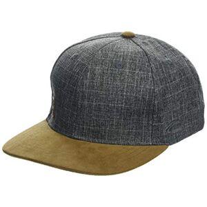 camel active Men's 406290 Flat Cap, Grey (Grey 6), L