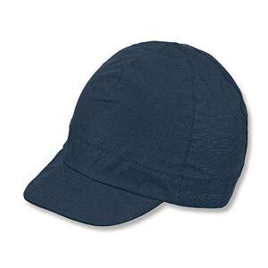 Sterntaler Boys Peaked Cap, Age: 4-6 Years, Size: 55 cm, Navy Blue