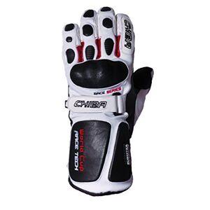 Rio Chiba Men's World Cup Polyester Gloves, White, Size 8