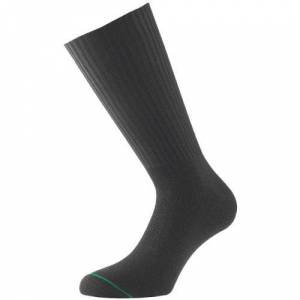 1000 Mile combat socks black (Large), 9-11.5