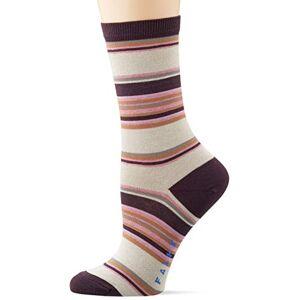 FALKE Women's Pop Stripe Socks, Beige (Cream 4011), 35-38