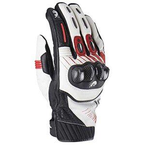 Furygan Men's Rg19 Gloves, White-Black-Red, S