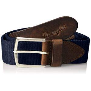 Wrangler Men's Canvas Belt Grtel, Blue (Navy 35), 110