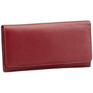 M-Collection Womens Mafia Damenbörse Wallets Red Rot (red 300) Size: 18x11x1 cm (B x H x T)
