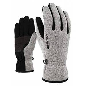 Ziener Imagio Men's Multisport Gloves, Men, Handschuhe Imagio Gloves Multisport, grey melange, Length 176.5 mm; width 203 mm