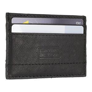 camel active Niagara Credit Card Case, 10 cm, Black (Schwarz)