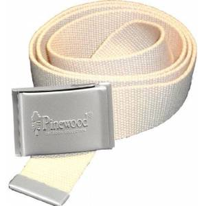 Pinewood Men's Canvas Belt-Beige, One Size cm