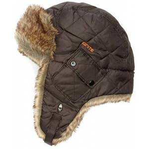 IGNITE Ruby Trapper Adults' Hat Black/Brown Fur Size:One size