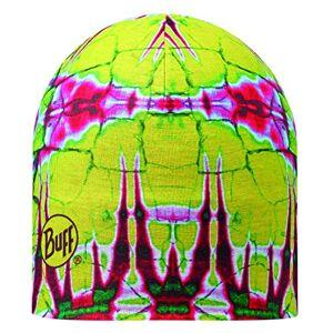 Buff Reversible Statics Mircofibre Hat - Yellow/Pink/Green/White, One Size