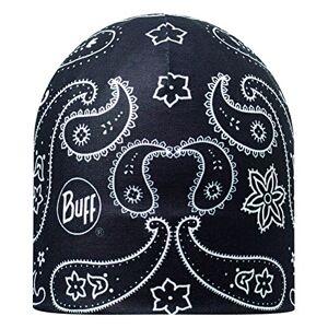 Buff Reversible Cashmere Mircofibre Hat - Red/Black/White, One Size