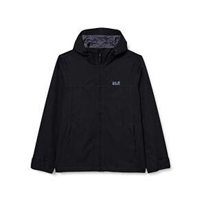 Jack Wolfskin Men's Caledon Functional Jacket, Black, L