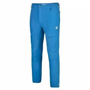 Dare2b Dare 2b Men's Tuned In II Water Repellent Multi Pocket Hiking Outdoor Trousers, Petrol Blue, 38-Inch