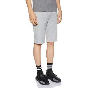 Nike Mens' Cotton Knee Length Club Shorts ,Dark Grey Heather/White ,XS