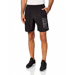 Nike Men's M NK DRY ACDMY SHORT WP, black/Black/(white), Small