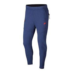 Nike Men's PSG MNSW TCH PCK PANT TRK CL Sport Trousers, Midnight Navy/University red, L