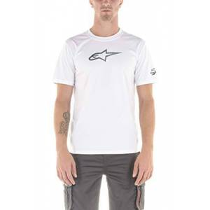 Alpinestars Men's Tech Ageless Premium Tee T-Shirt, White, M