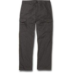 Volcom Men's Miter Ii Cargo Pant Trouser, Dark Grey, 29