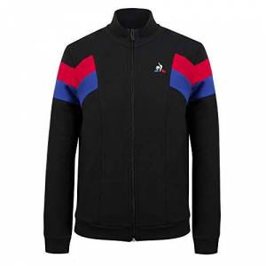 Le Coq Sportif Boys' TRI FZ Sweat N°1 Sweatshirt, Children's, Black, 14A