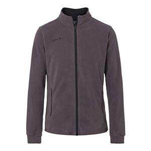 Izas Padru Men's Multi-Color Fleece Jacket (Dark Gray / Black), size L