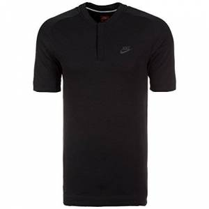 Nike M NSW BND SS Polo Tennis, Men's, mens, 846871-010_S, Black, S