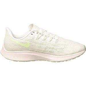 Nike Wmns Nike Air Zoom Pegasus 36, Women's Track & Field Shoes, Summit White/Vapor Green Spruce Aura, 4 UK