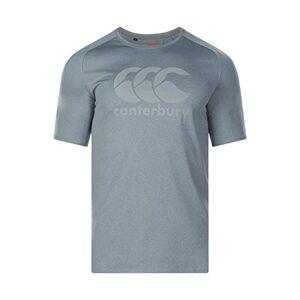 Canterbury Men's Vapodri Large Logo Training T-Shirt, Static Marl, 3X
