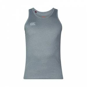 Canterbury Men's Core Vapodri Singlet Training Vest, Static Marl, X-Large