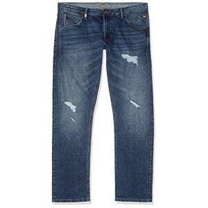 camel active Men's 488225 Tapered Fit Jeans, Blue (Light Blue 41), 32 W/30 L