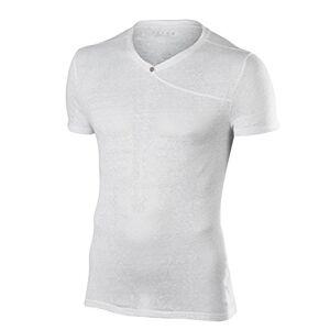 FALKE Men's Fashion Short Leeved Men Sportswear, Men, Fashion Shortsleeved Shirt Men, White